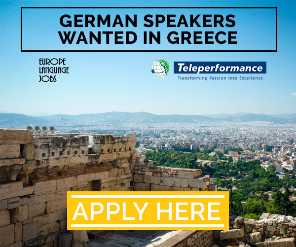 Event for jobs seekers with greece
