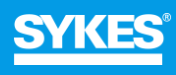 Logo Sykes with Europe Language Jobs
