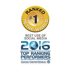 Contact Center World - Top Ranking Performers 2016