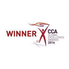 Winner CCA Global Excellence Awards - 2016