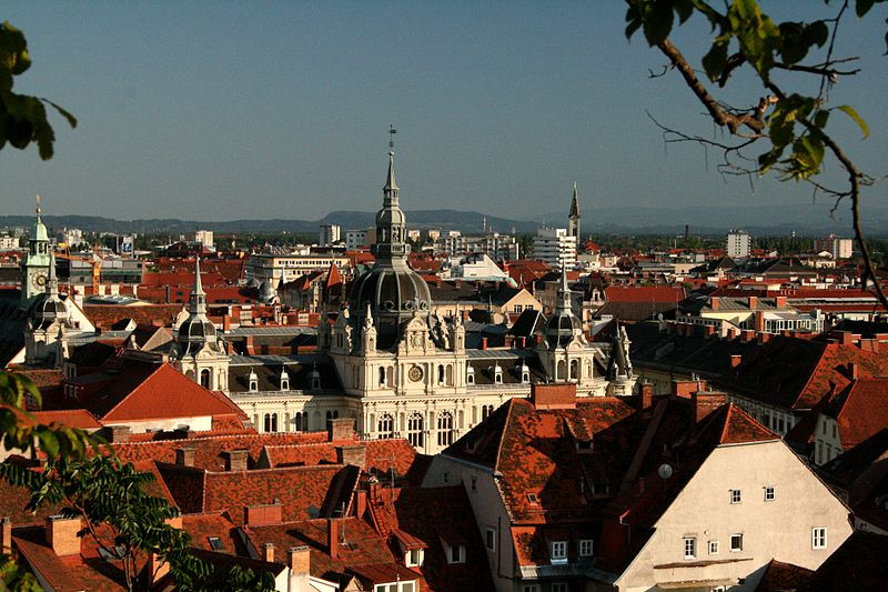 5th happiest city in europe Graz