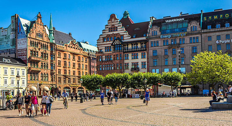 7th happiest city in europe Malmo