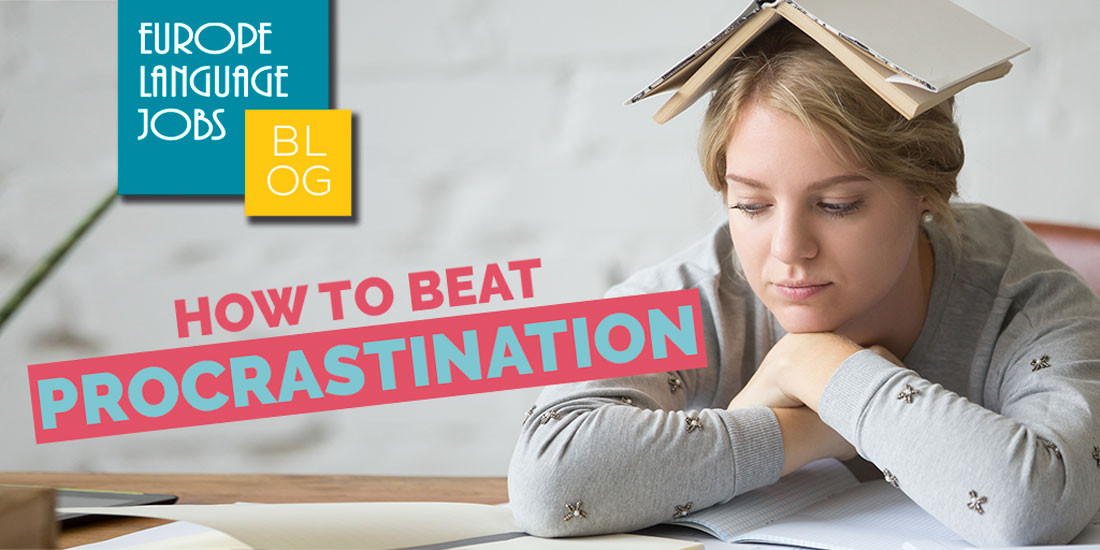 Beat procrastination in the job search