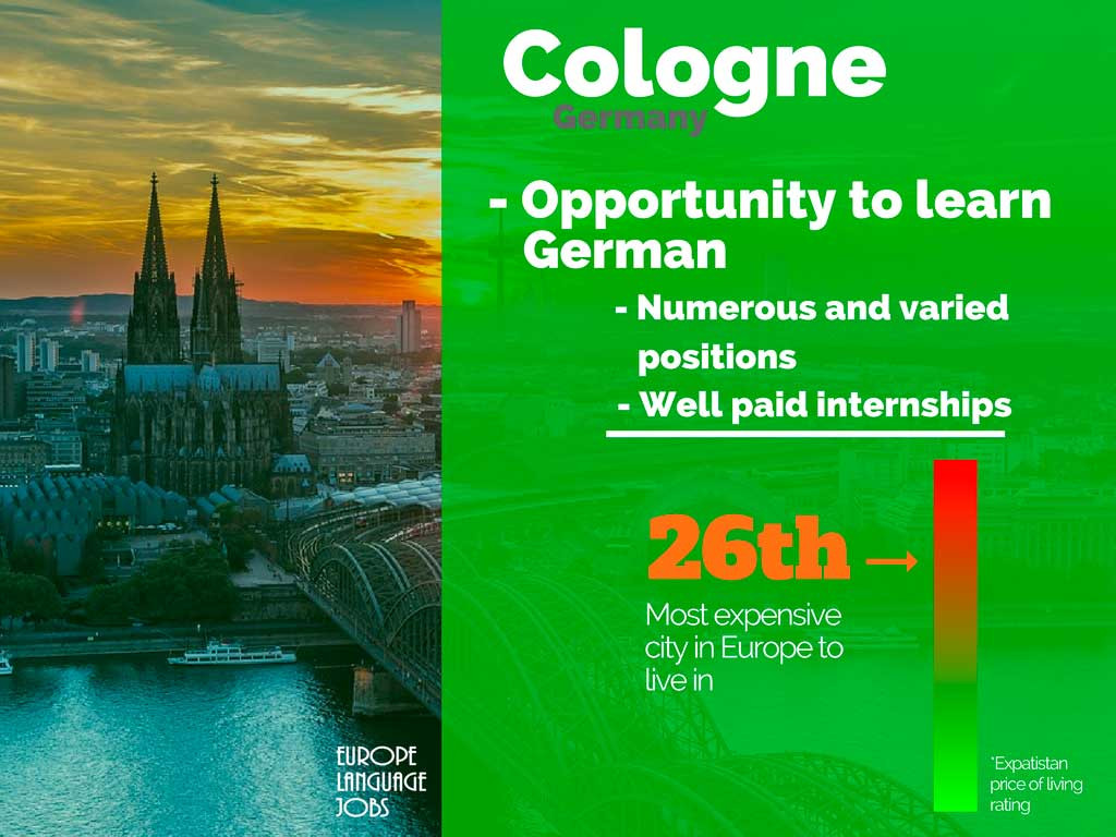 Do an internship abroad in Cologne