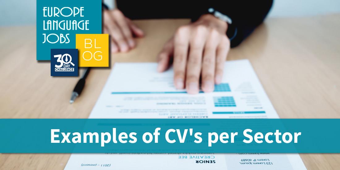 Examples-of-cvs-per-sector