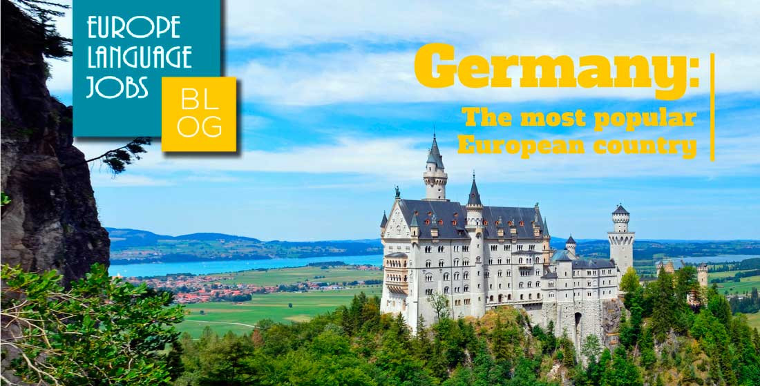 Germany the most popular country
