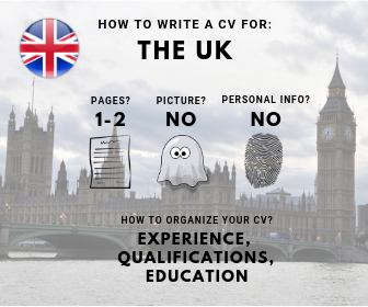 How to write a CV for the UK