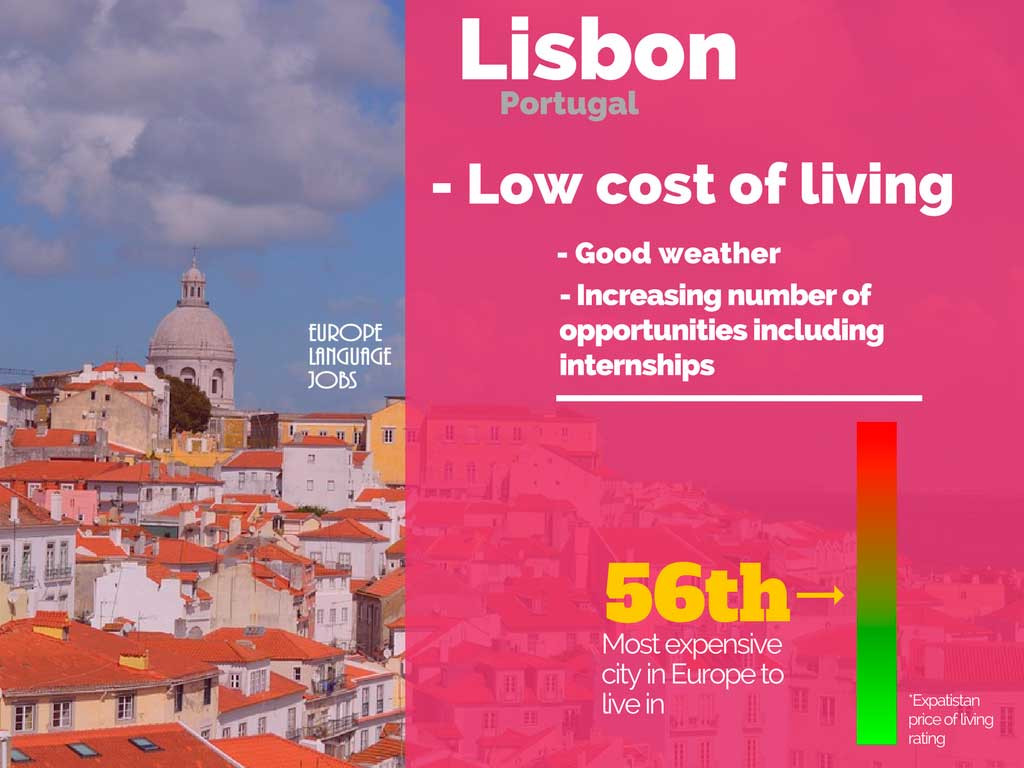 Find and internship in Lisbon