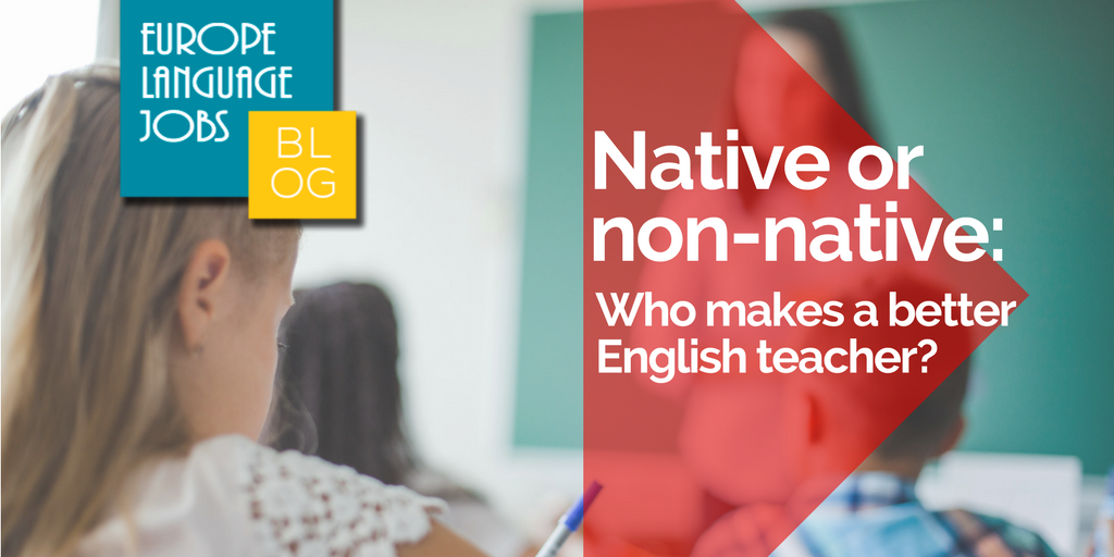 Native or non-native English language teaching
