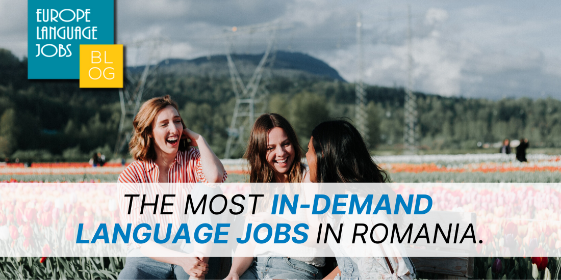 language jobs in romania