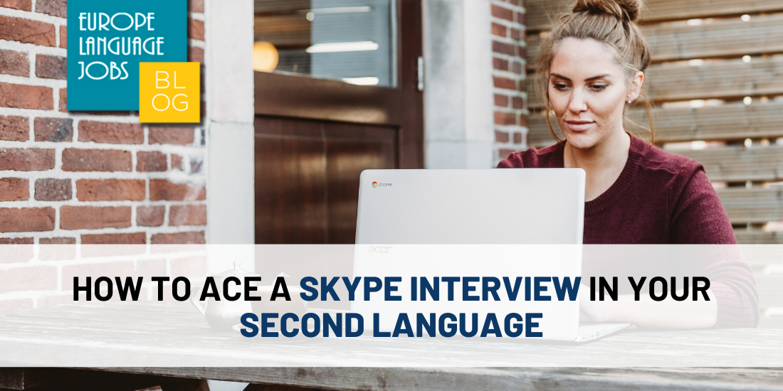 second-language-skype-interview-woman-laptop