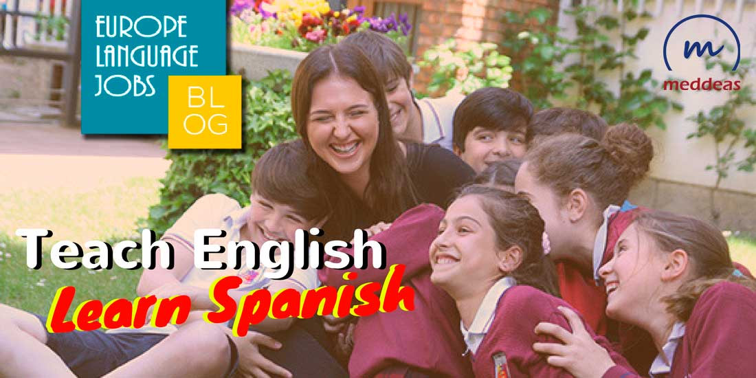 Teach English and learn Spanish
