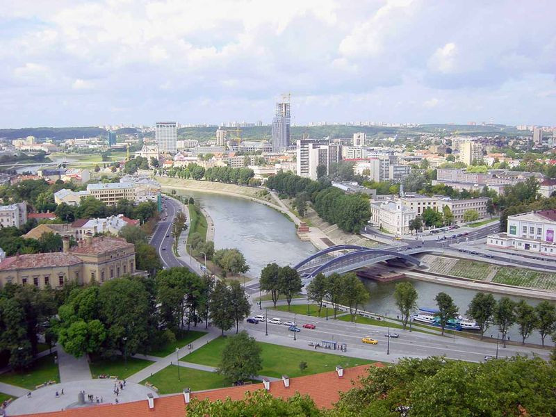 Most Popular Erasmus Cities - Vilnius, Lithuania