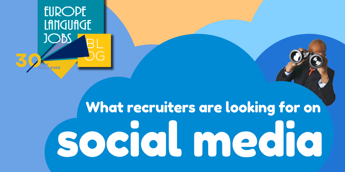 Recruiters look at social media profiles