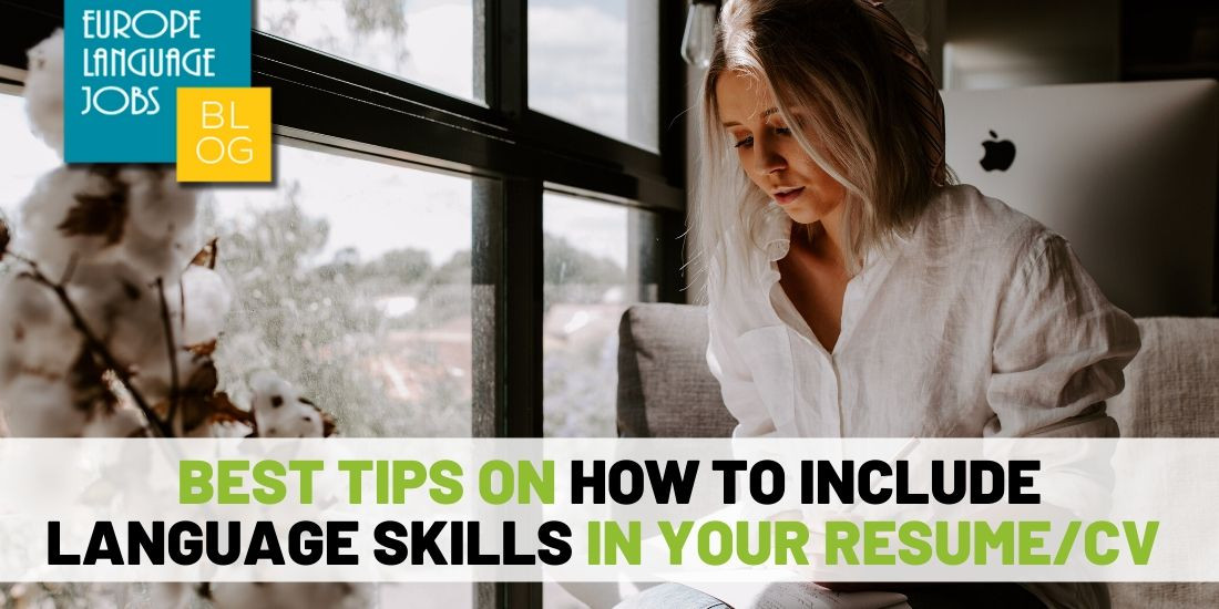Best Tips On How To Write Language Skills In Resume Cv