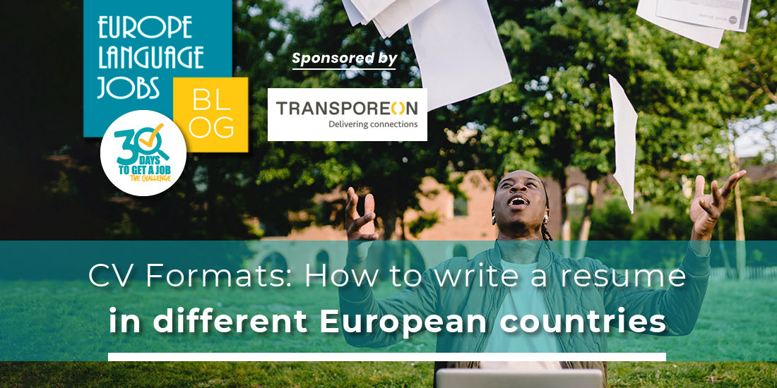 CV Formats: How to write a resume in different European countries