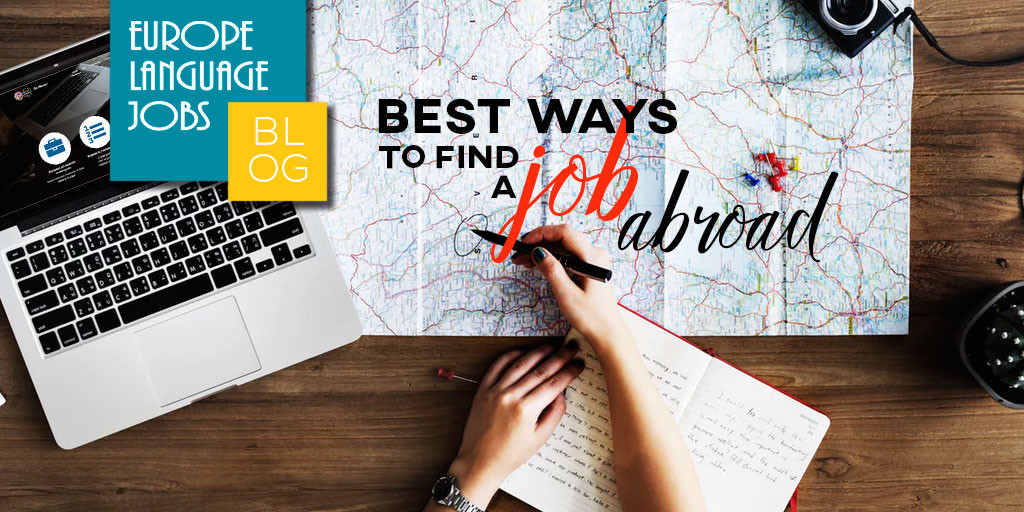 best ways to find a job abroad