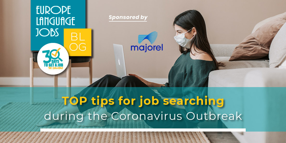 Top tips on job searching during the corona virus outbreak
