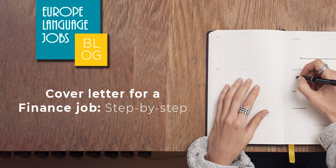 How To Write A Finance Cover Letter: Step-by-step