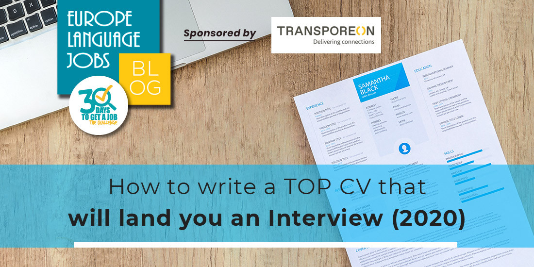 How to Write a Top CV that Will Land You an Interview (2020)
