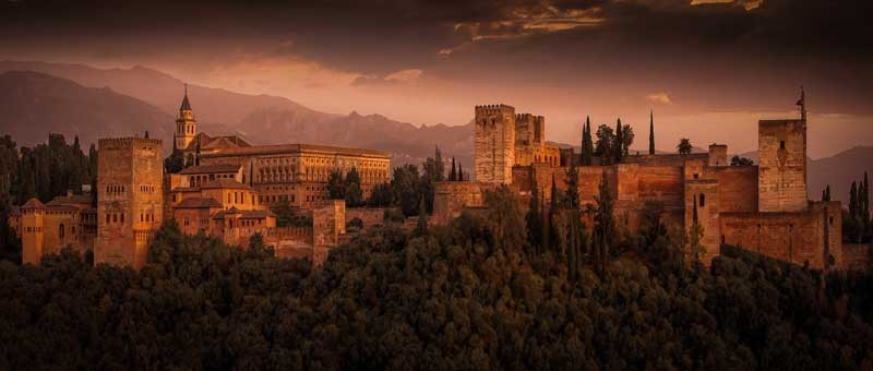 The most popular city for Erasmus - Granada, Spain