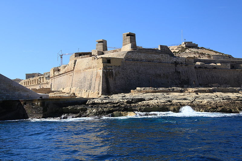cheapest-places-to-live-and-travel-in-europe-Valletta-Fort Saint Elmo