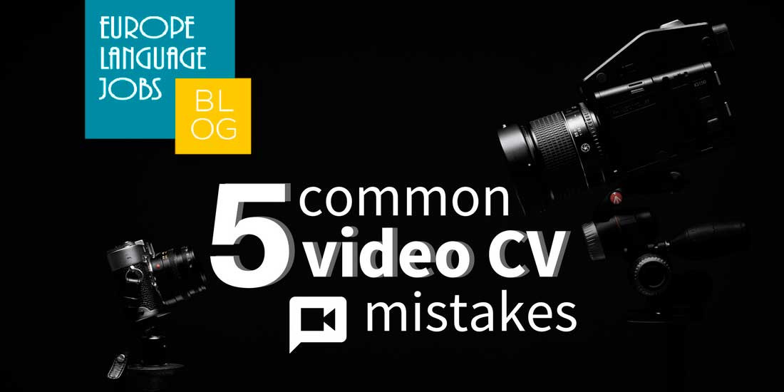 Common video CV mistakes