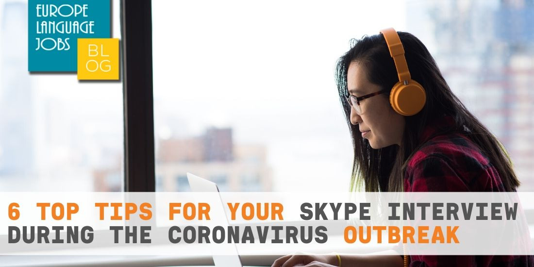 skype interview during coronavirus