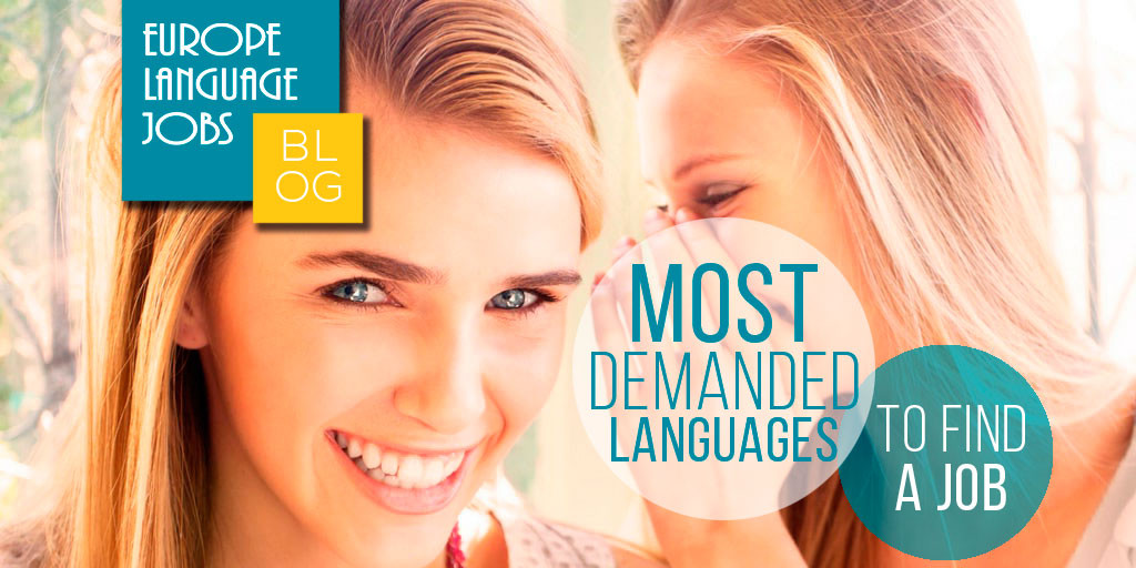Most demanded language to find a job in Europe