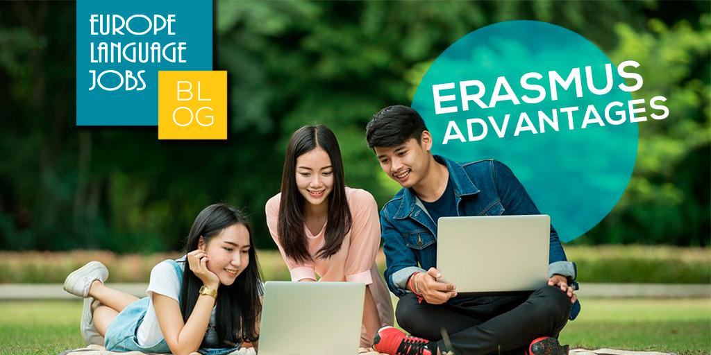 Europe Language Jobs blog about Erasmus advantages