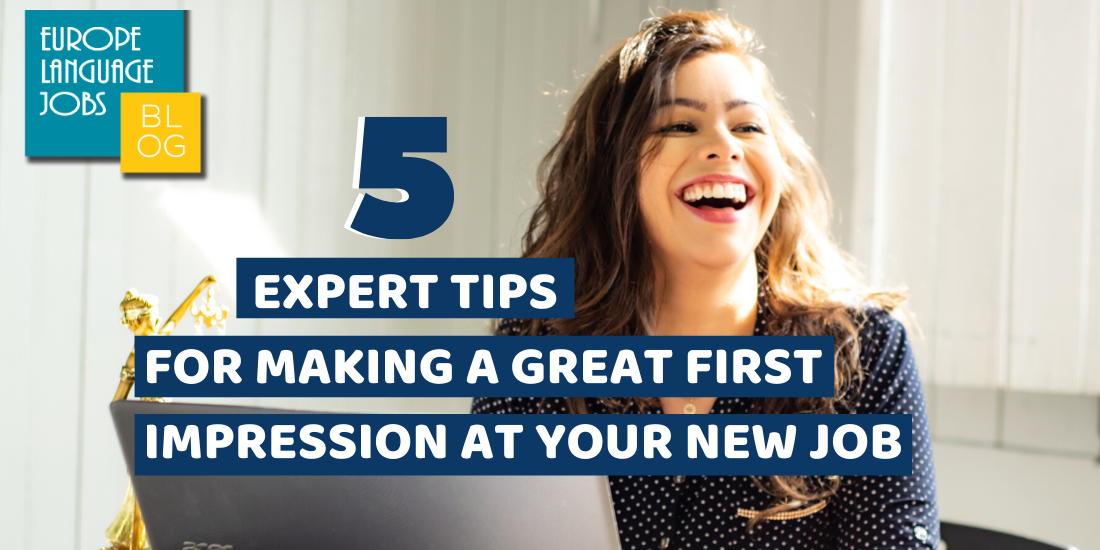 first impression your new job
