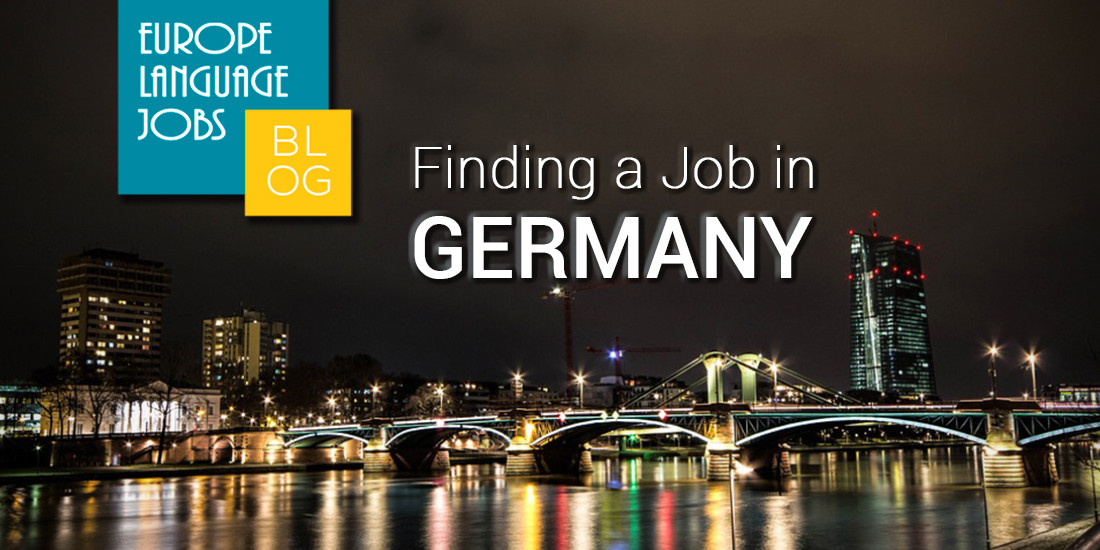Finding A Job In Germany