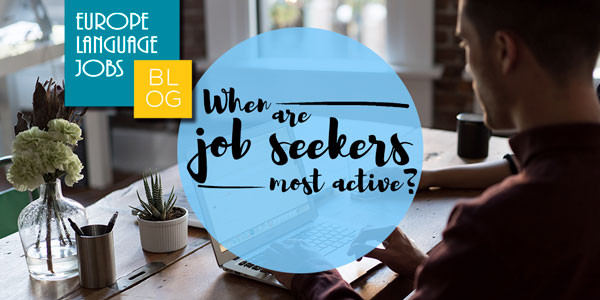 When are jobseekers most active?