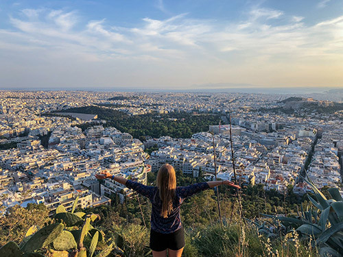 getting around Athens