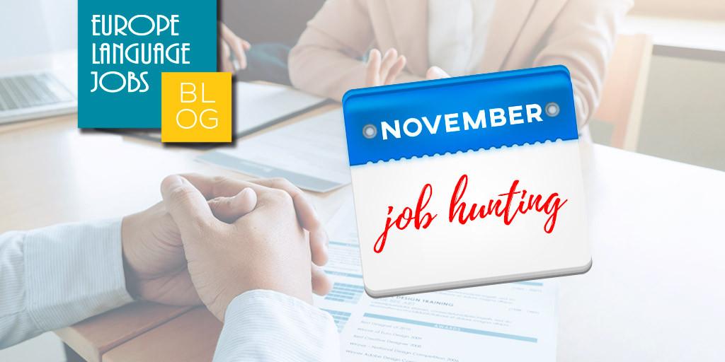 November jobs in Europe