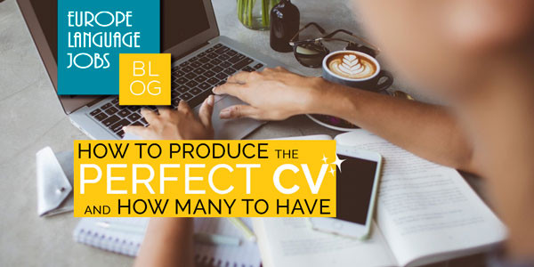 Producing the perfect CV