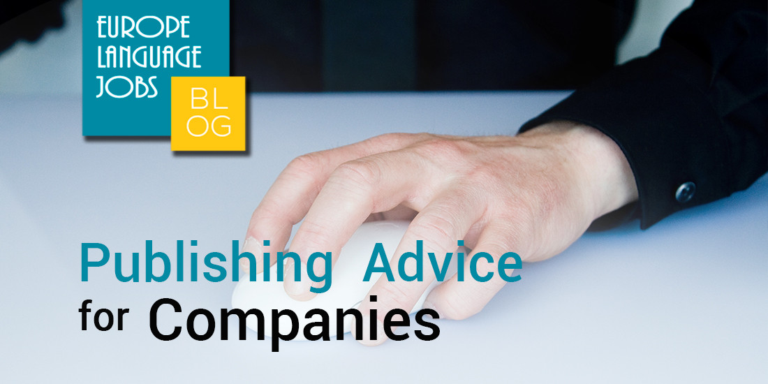 Publishing Advice For Companies