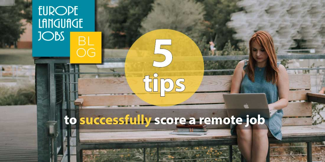 5 tips to find a remote job